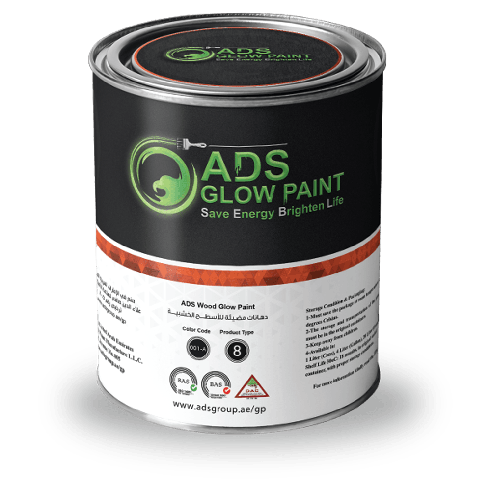 ADS Glow Paint Wood Product