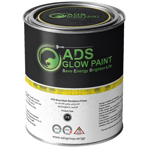 ADS Glow Paint Primers Wood Stain Resistance