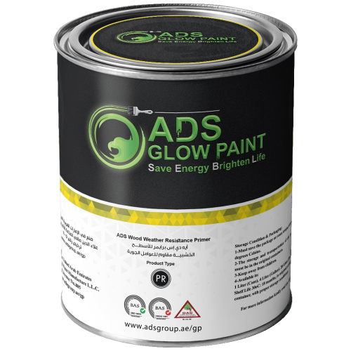 ADS Glow Paint Primers Wood Weather Resistance